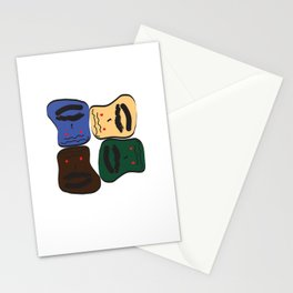 Happy or Angry Stationery Cards