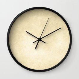 Simply Antique Linen Paper Wall Clock