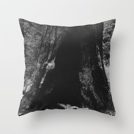 Burned Throw Pillow