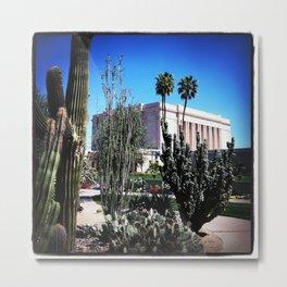 Mesa AZ Temple Metal Print