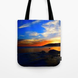 vibrant sky Tote Bag