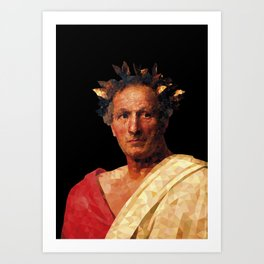 Historical Figures - Julius Caesar Art Print
