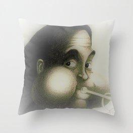 Dizzy Gillespie Throw Pillow