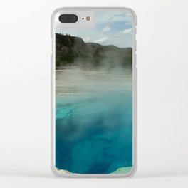 The Emerald Pool Colors Clear iPhone Case
