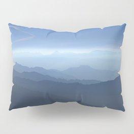 Blue dreams II. Misty mountains Pillow Sham