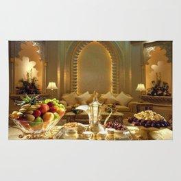 pharaoh's feast Rug