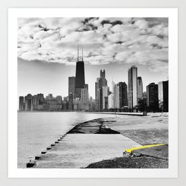 Chicago Lakefront Art Print