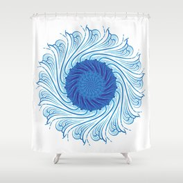 For when you need to gather strength Shower Curtain