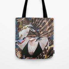 Madchen_Portrait with (Dark Jungle) Tote Bag