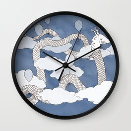Air Dragon Wall Clock