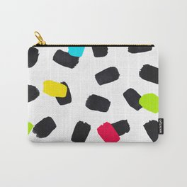 Brushstrokes in Color Carry-All Pouch