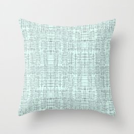 Mint Marks Throw Pillow