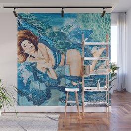 Water Splash Wall Mural