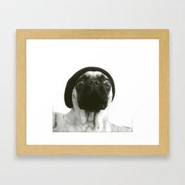 Hipster Lola Framed Art Print