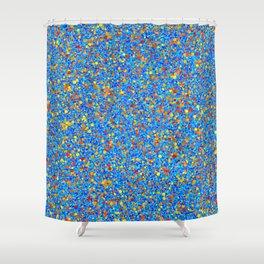 Expanding Universe Shower Curtain