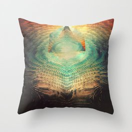 kryypynng dyyth Throw Pillow
