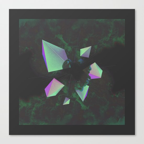Disassembled Canvas Print