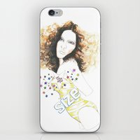 sparkle iPhone & iPod Skins featuring sparkle by jollypot