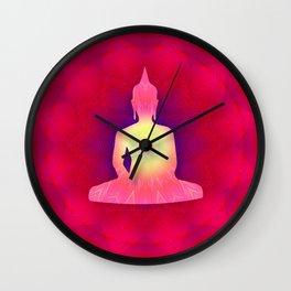 Buddha 03 Wall Clock