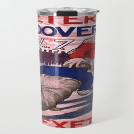 Vintage poster - Exeter vs. Andover College Football Travel Mug