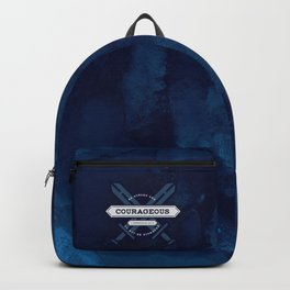 1 CHONICLES - BE STRONG AND COURAGEOUS Backpack