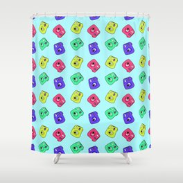 Instant Camera Shower Curtain