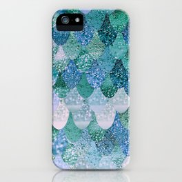 REALLY MERMAID OCEAN LOVE iPhone Case