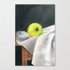 Lonely Apple Canvas Print