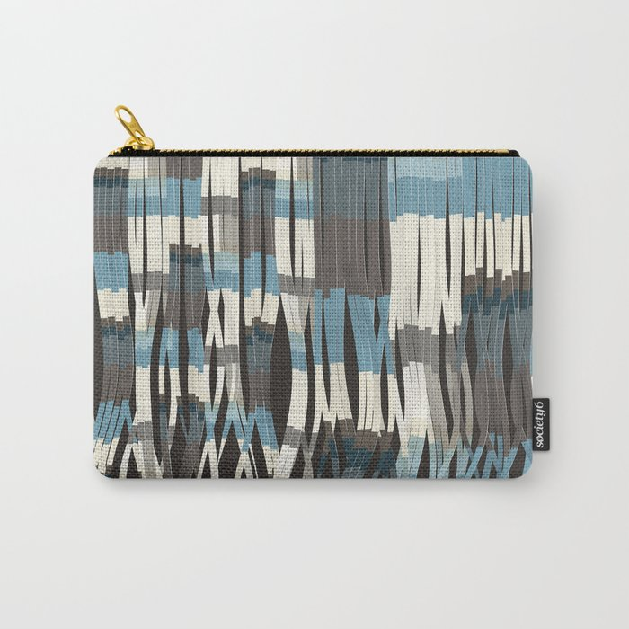 Abstract Graphic Ribbons Carry-All Pouch