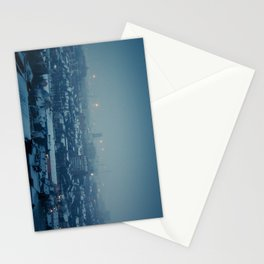 Waking Up Under the Snow Stationery Cards