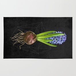Blue Hyacinth Hydroponics (tryptic 1/3) Rug