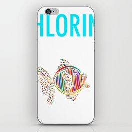 Funny Gift For Swimmer Chlorine, It's what's for Breakfast iPhone Skin