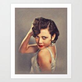 Marion Byron, Vintage Actress Art Print