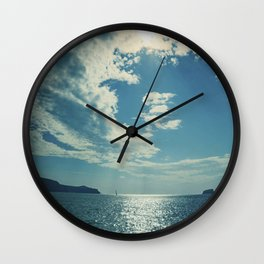 Santorini, Greece 17 Wall Clock