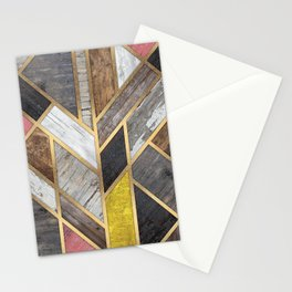 Rustic Scandinavian Design Colorful Stationery Cards