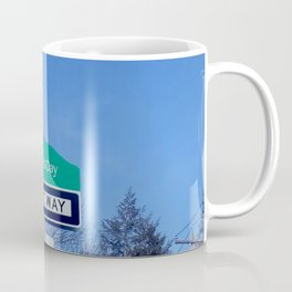 Mother's Day funny design with signpost Coffee Mug