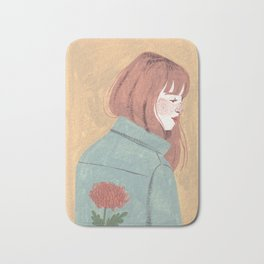 Chrysanthemum Jacket Bath Mat