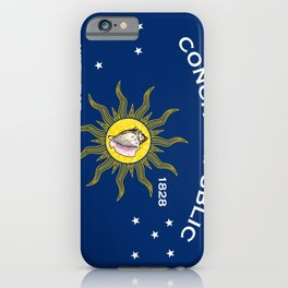 Conch Republic Flag iPhone Case