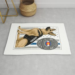 K9 Unit Flag COLORADO copy Rug