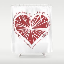 Charles Dickens - Great Expectations Shower Curtain