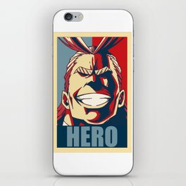 Boku no Hero Academia All Might iPhone Skin