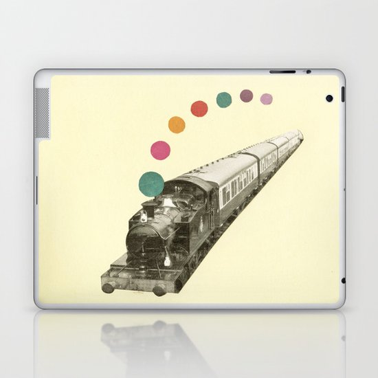 Rainbow Train Laptop & iPad Skin