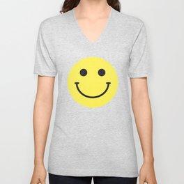 Smile Unisex V-Neck
