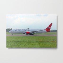 Virgin Atlantic B787-9 Metal Print