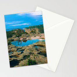 Mirror Puddle Stationery Cards