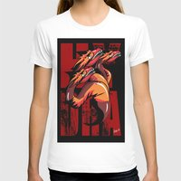 hydra T-shirts featuring Hydra by John Hernandez Art