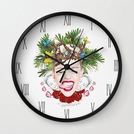 Tongue Tied Wall Clock