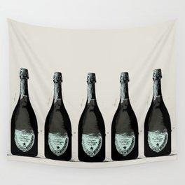 Dom Perignon Champagne Wall Tapestry