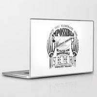 sherlock holmes Laptop & iPad Skins featuring Sherlock Holmes by Leti & fishhorse