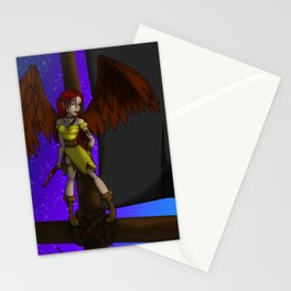 Black flag Stationery Cards